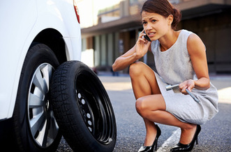 Arvada Towing Services flat tire